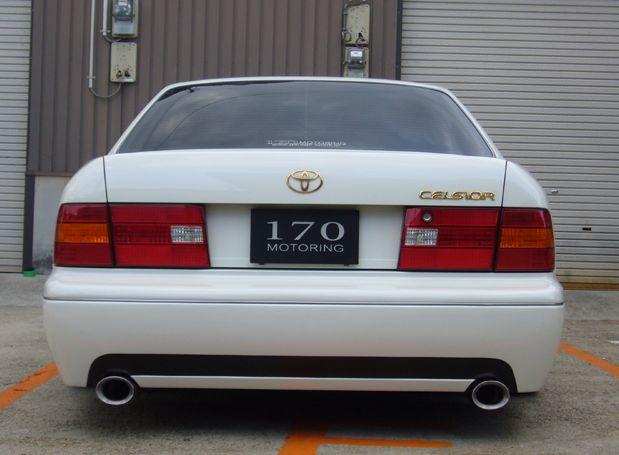 セルシオ 20系 前期 リアバンパースポイラー 塗装済 ジュール シックスセンス