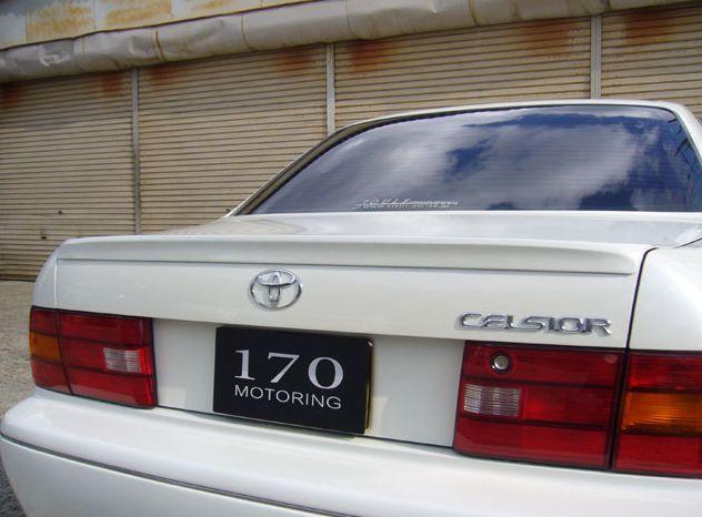 セルシオ 20系 前期 トランクスポイラー 塗装済 ジュール シックスセンス