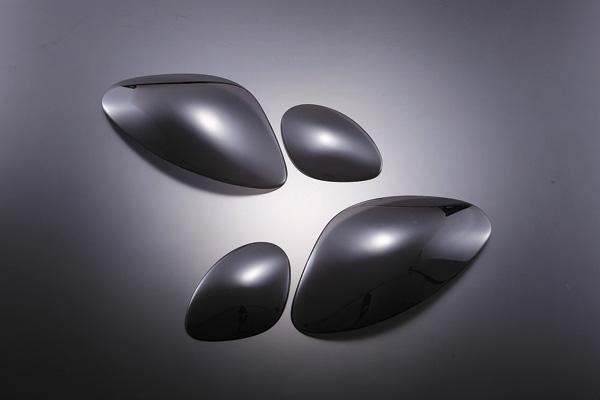 アリスト 16 ブラックヘッドライトカバー K-BREAK(ケイブレイク)