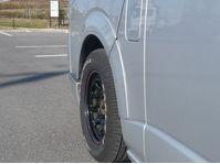 ハイエース 200系 ナロー オーバーフェンダー 塗装済 ティアラ シックスセンス