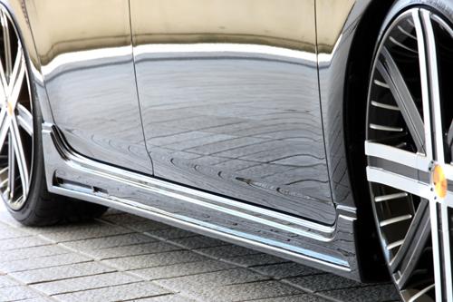 プリウス ZVW30 前期 サイドステップ(ABS製) 塗装済 ゼウス グラマラスライン