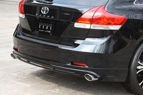 U.S トヨタ ヴェンザ リアアンダースポイラー 塗装済 ゼウス ラヴライン
