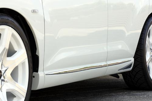 ムラーノ Z51 MC前期 サイドステップ 塗装済 ゼウス ラヴライン