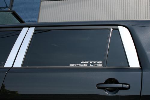 カローラ ルミオン ZRE15#/NZE15# MC後期 ステンレスピラーリフレクター(6ピース) ゼウス グレースライン