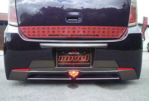 ワゴンRスティングレー MH23S LEDマーカー(レッド) ノベル 翔プロデュース