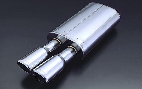 セドリック/グロリア HBY33/HY33/ENY33 (TB) KBマフラーシリーズ KB-W・BURST(ケービー・ダブルバースト) 【オールステン/片出し】 K-BREAK/ケイブレイク
