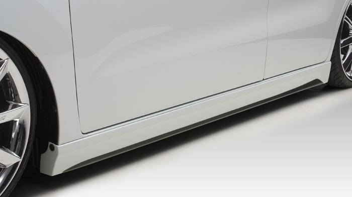 ワゴンR MH23S サイドスポイラー 塗装済 レジーナ+K アルタイル フレーダーマウス