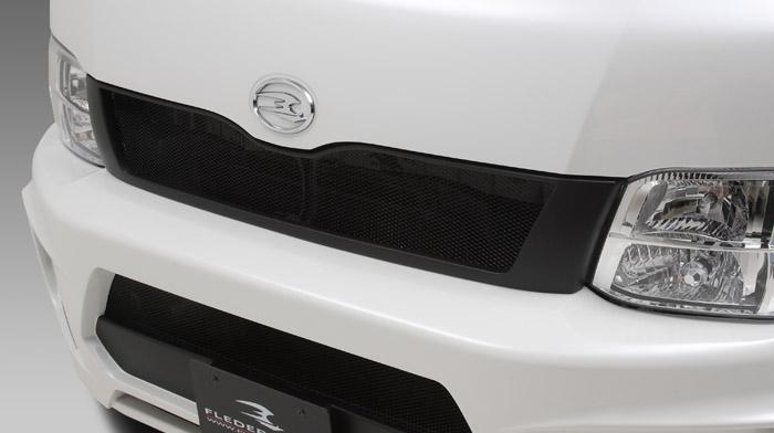 ハイエースワイド 3型 200系 フロントグリル(アルミネット付) 塗装済 レジーナ アルタイル フレーダーマウス