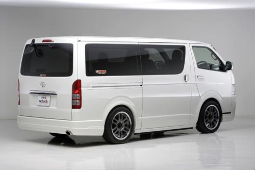 ハイエース 200系 標準 リアバンパースポイラー 塗装済 Forbito UI-vehicle/ユーアイビークル