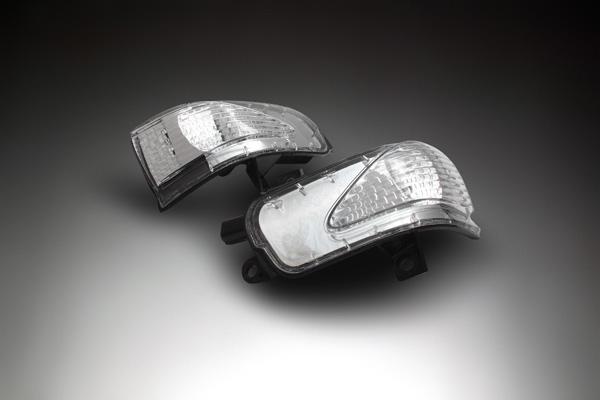 LEDウィンカーミラーレンズキット H1 BRASSEN(ブラッセン)