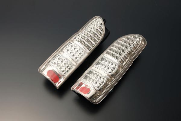ハイエース 200系 LEDテールランプ(オールクリア) BRASSEN(ブラッセン)