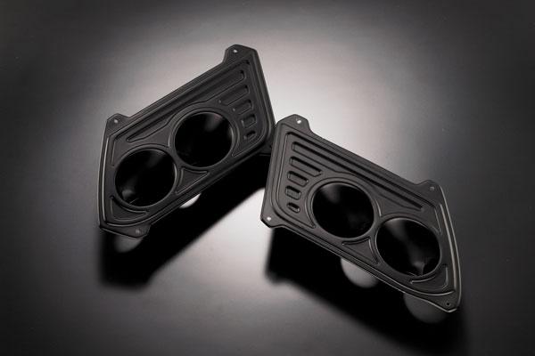 ステップワゴン RK1,2,5,6 フォグカバー【4ユニット】 塗装済 D.A.D MAD VIPER/マッドバイパー GARSON/ギャルソン