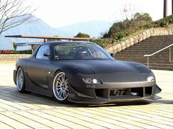 RX-7 FD3S サイドステップ Type-GT 塗装済 ユーラス/URAS