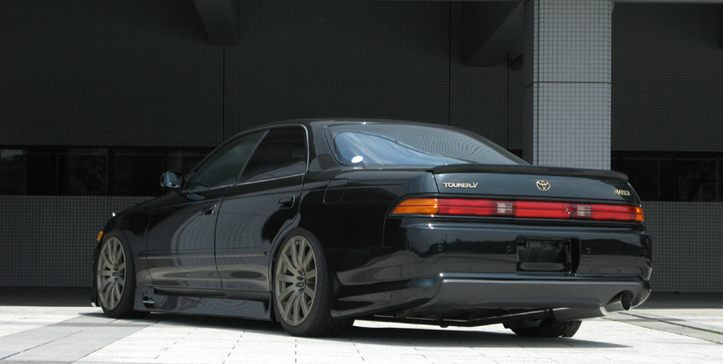 マーク2 90系 Style-L リアバンパー 塗装済 ユーラス/URAS