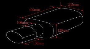 JZX105 K-BREAK/ KBマフラーシリーズ マーク2系 【オールステン/左右出し】 (2.5L 4WD) KB-SNIPER (ケービー・スナイパー) ケイブレイク