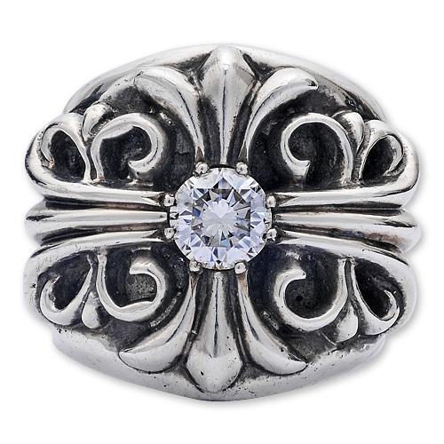 CHRONO Original(クロノオリジナル):Keeper Ring w/Diamond(キーパーリングw/ダイヤモンド)
