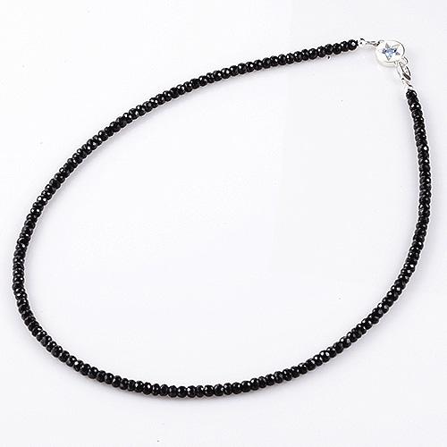 品質検査済 KING LIMO キングリモ Necklace ネックレス ブラックスピネルw 40-45cm 実物 ブルースピネル 送料無料 ギャラクシーネックレス