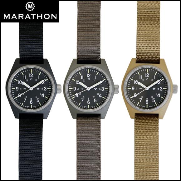 時計 腕時計 ミリタリーウォッチ アメリカ軍 MARATHON General Purpose Field Watch Sterile マラソン ジェネラルパーパス フィールドウォッチ ステライル クォーツ WW194004 ファイバーグラス