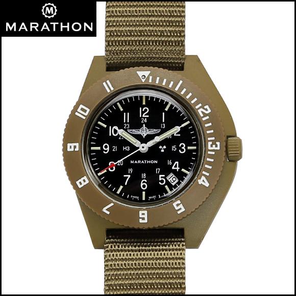 時計 腕時計 ミリタリーウォッチ イスラエル軍 MARATHON Navigator Date Duvdevan Pilot マラソン ナビゲーター デイト ドゥヴデヴァン パイロット クォーツ WW194013DD ファイバーグラス