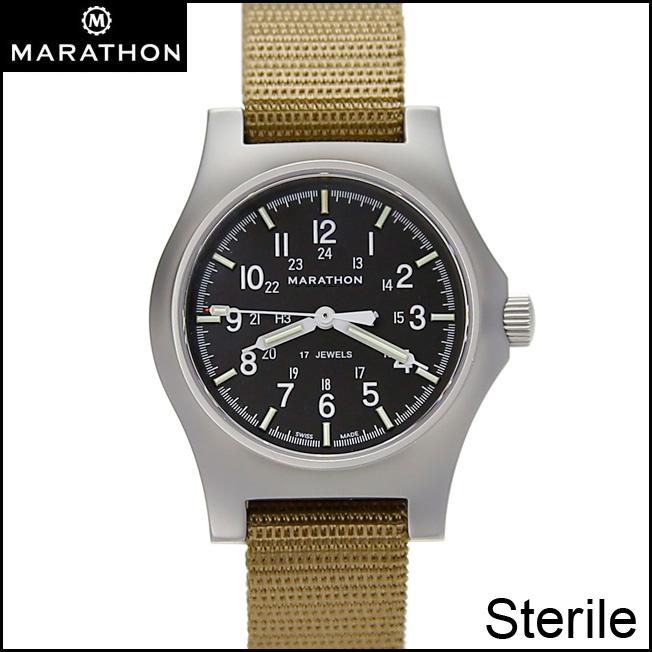 時計 腕時計 ミリタリーウォッチ アメリカ軍 MARATHON General Purpose Sterile Mechanical Stainless Steel Case WW194003SS-NGM マラソン ジェネラルパーパス ステライル メカニカル ステンレススチールケース 手巻 ステンレス