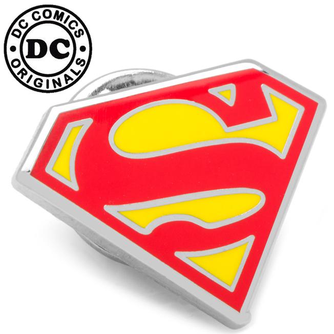 various licensed various licensed enamel superman shield lapel pin s voltagebd Choice Image