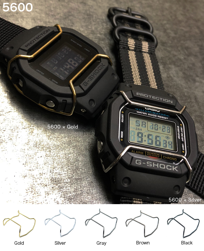 on sale 1b2e1 e670c G-SHOCK ジーショック ガード プロテクター ブルバー 腕時計 時計バンド 工具 パーツ 交換 修理|時計ベルトの専門店クロノワールド