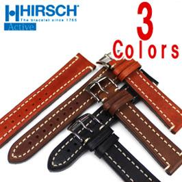 バネ棒付き 時計 ベルト 腕時計 HIRSCH ヒルシュ Liberty リバティー ネイチャーシリーズ レザー革 18mm 20mm 22mm 24mm ブラック ブラウン【P10】
