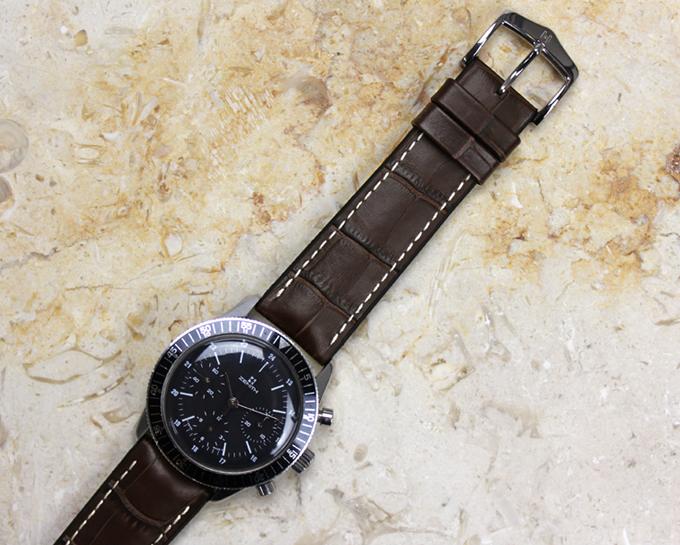 バネ棒付き 時計 ベルト 腕時計 HIRSCH ヒルシュ GEORGE ジョージ レザー革 20mm 22mm 24mm ブラック ブラウン ブルー レッド