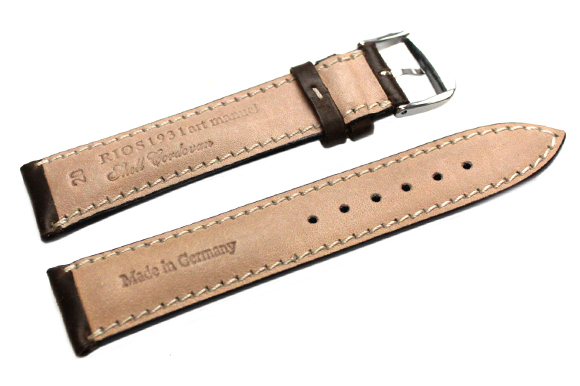 ◆RIOS1931 New York Shell Cordovan Leather 뉴욕 쉘・코도반 말가죽 손목시계용・시계 벨트・시계 밴드 18 mm20mm22mm