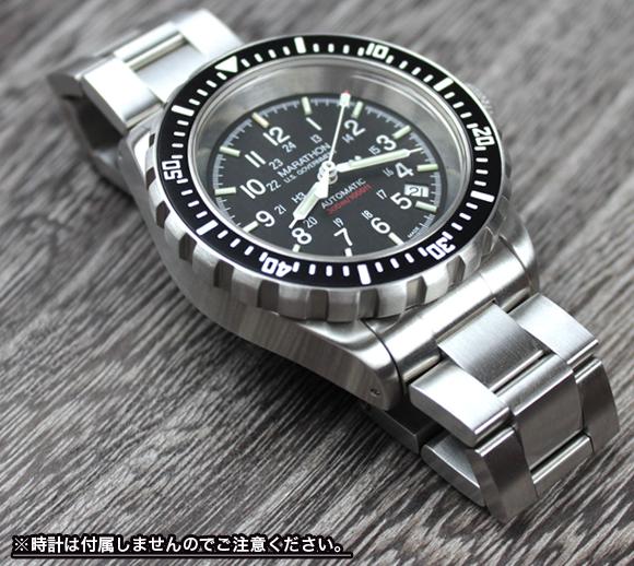 에서 마라톤에서 MARATHON Divers Bracelet No-Mark 노 마크 팔찌 20mm
