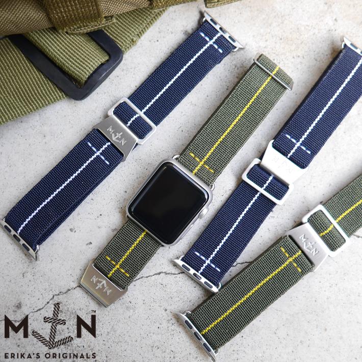 Apple Watch専用 【NEW】MN STRAP for Apple アップル ウォッチ専用 MARINE NATIONAL マリーンナショナル MNストラップ for Apple Watch Series2/3/4【P10】