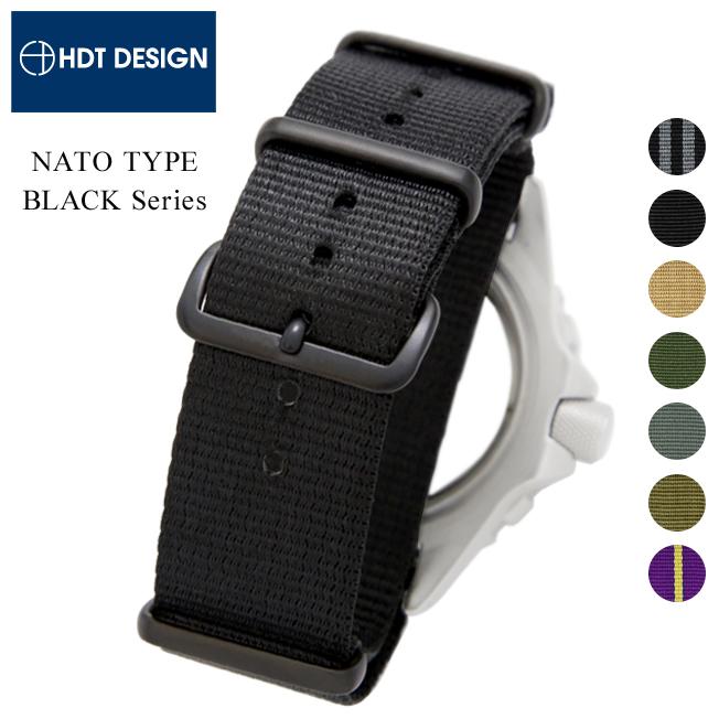 ◆ 블랙 시리즈 ◆ 『 NATO 유형 나일론 스트랩 』 시계 용 ・ 시계 벨트 시계 밴드 18mm20mm22mm