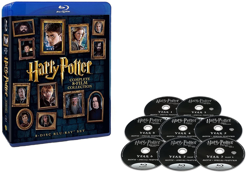 全国一律送料無料 ハリー ポッター 8-Film ブルーレイセット 大好評です Blu-ray 8枚組 激安挑戦中