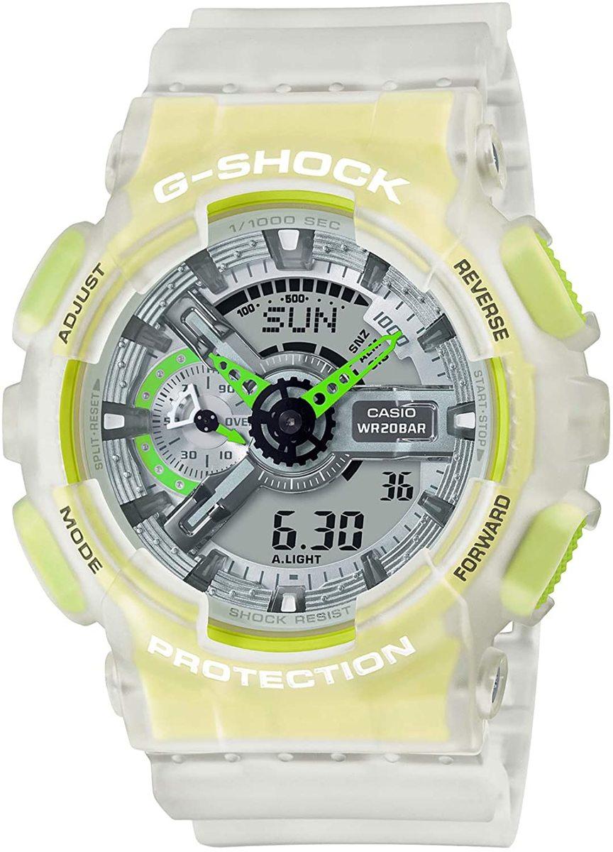 全国一律送料無料 カシオ 腕時計 ジーショック 特売 Color GA-110LS-7AJF Skeleton Series 全国どこでも送料無料