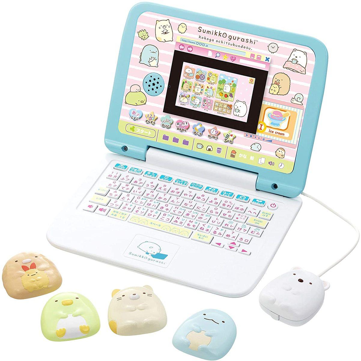 特価キャンペーン 全国一律送料無料 マウスできせかえ 激安通販 275×202×202mm すみっコぐらしパソコン