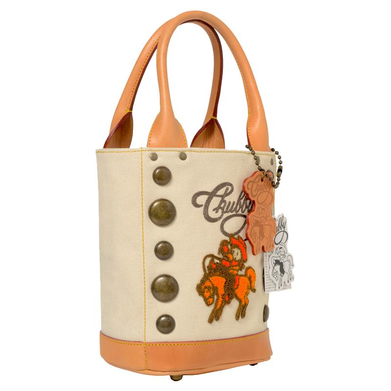 日本製 サガラ刺繍トートバッグS(生成り×アンチックゴールド) 自立 帆布 牛革 サドルレザー トートバッグ ヌメ革 鞄 スタッズ キャラクター ユニセックス 送料無料