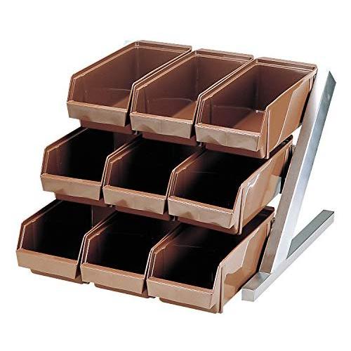 MT DXオーガナイザー 3段3列 ブラウン カトラリー 収納  当店オリジナル