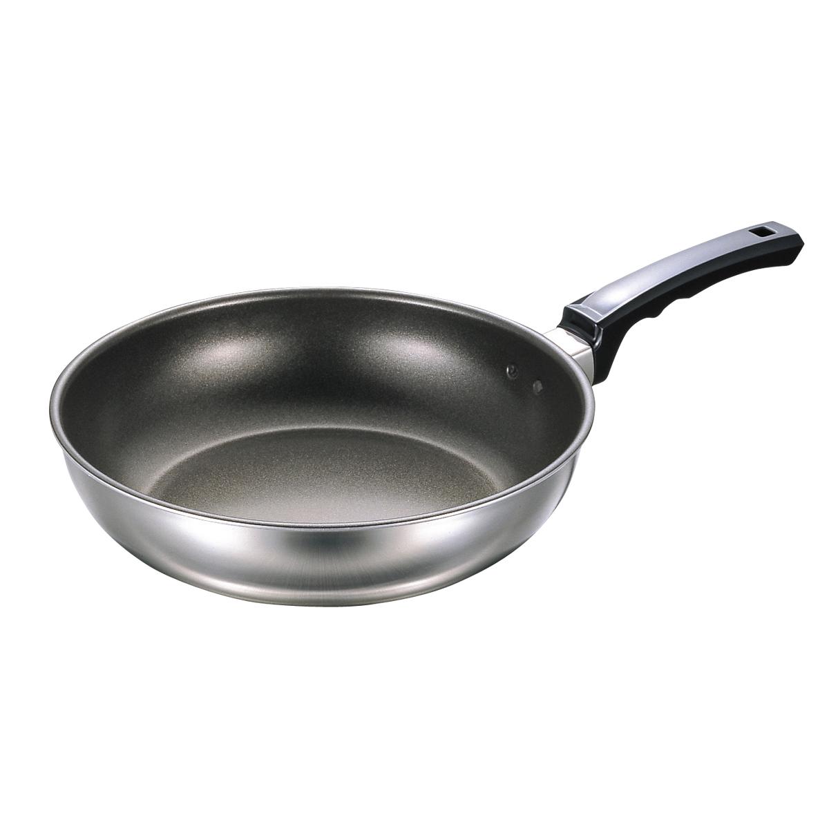 フジ IHいため鍋DX(フッ素樹脂加工) 27cm IH対応 フライパン