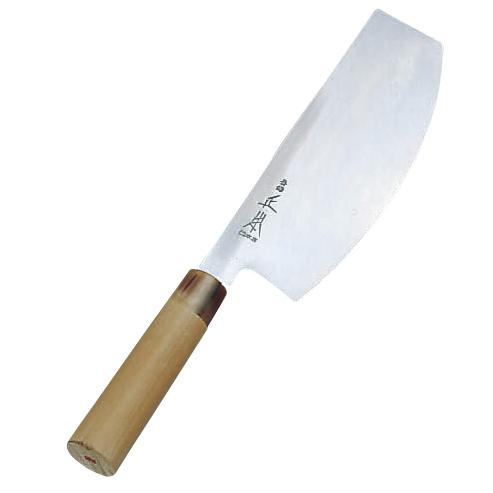 正本 本霞・玉白鋼 寿司切庖刀24cm