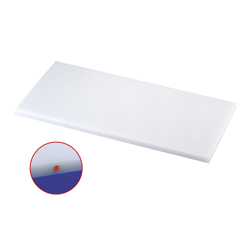 スーパー耐熱まな板 カラーピン付 SSTWP 赤