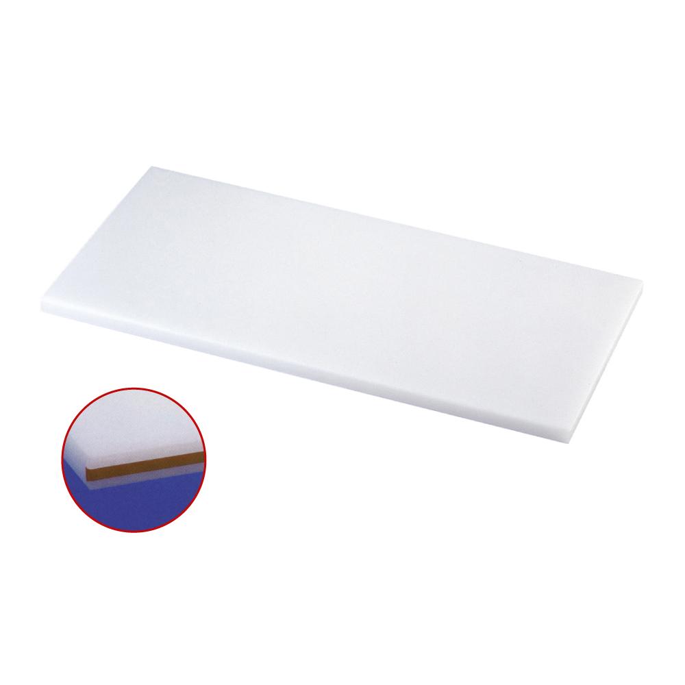 スーパー耐熱まな板 カラーライン付 SSWKL 茶