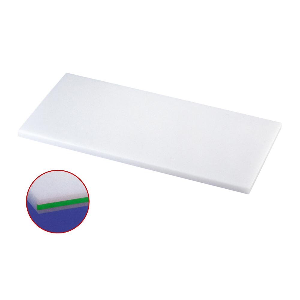 スーパー耐熱まな板 カラーライン付 SSTWL 緑