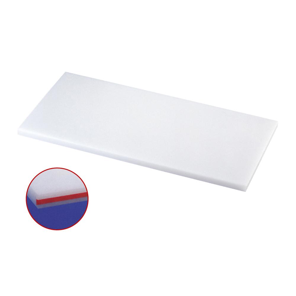 スーパー耐熱まな板 カラーライン付 SSTWL 赤