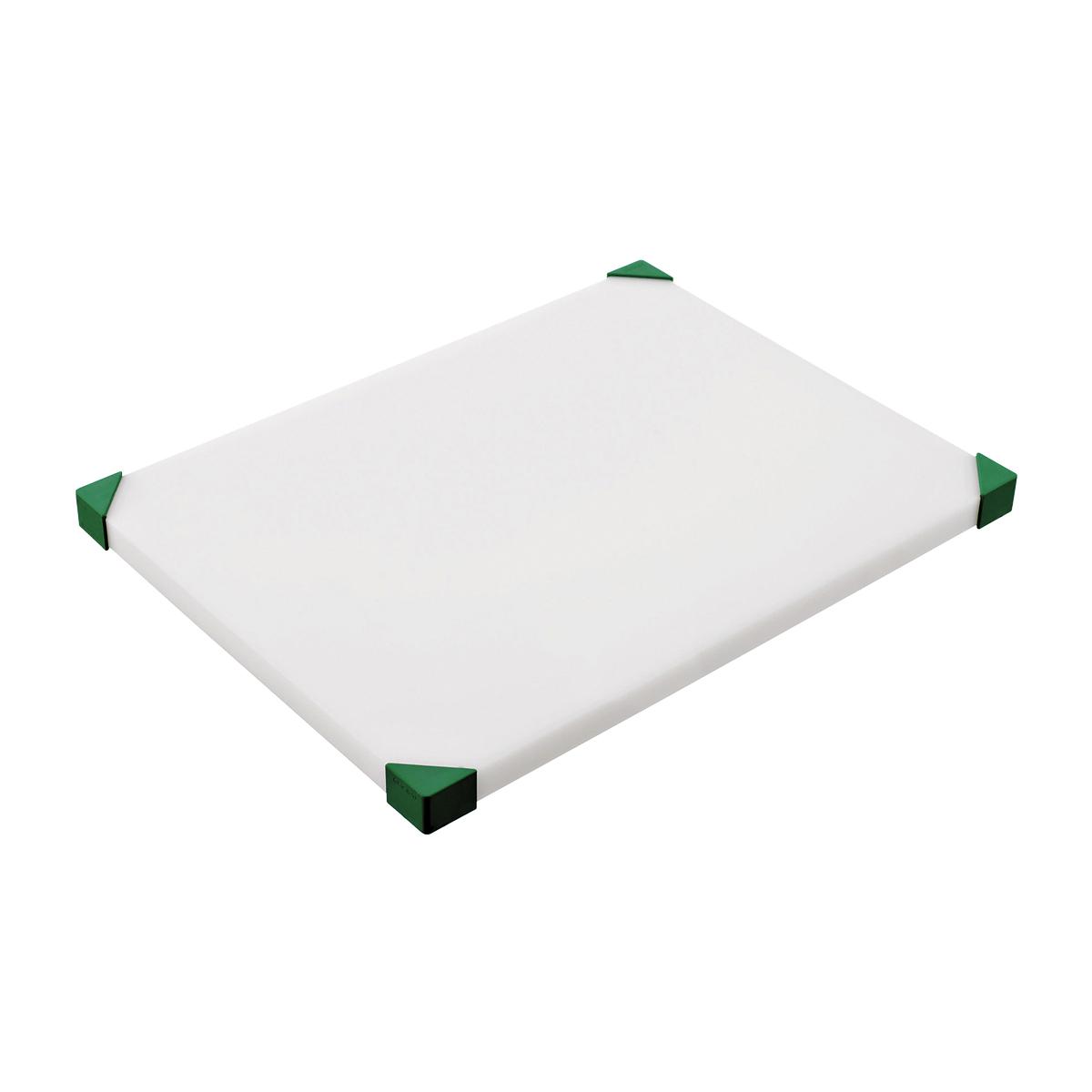 araven まな板 504×304×H34mm 緑 7101