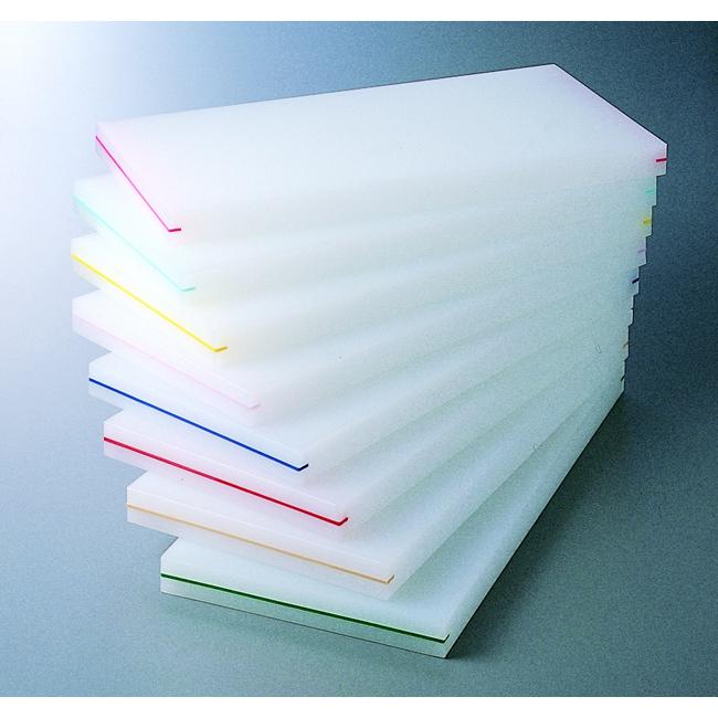 スーパー100 抗菌耐熱俎板90×45×2cm カラー板付