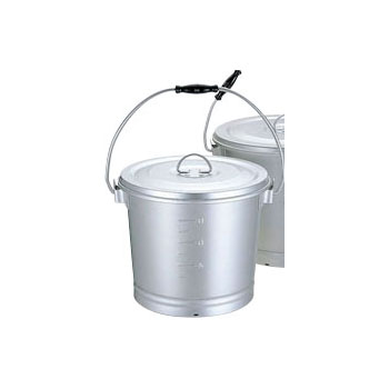 アルミ一重汁食缶 14L 【あす楽対応】