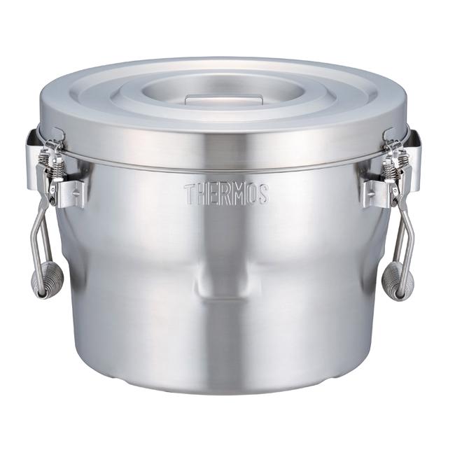 送料無料  サーモス 高性能保温食缶 シャトルドラム10L GBB-10C(S)