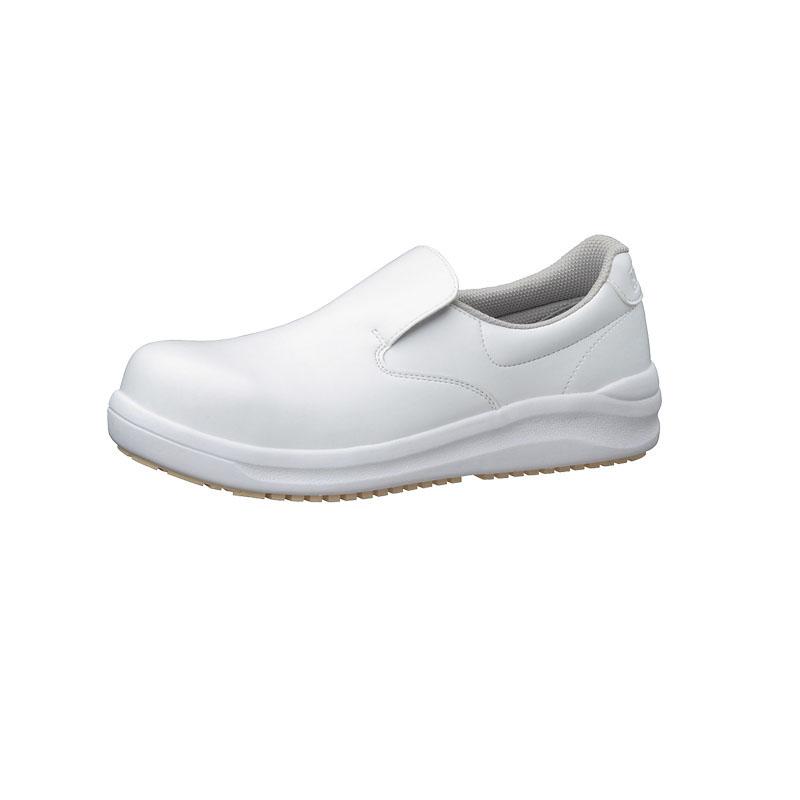 ハイグリップ耐滑安全靴NHS600 22.5cm 白 コックシューズ  厨房用シューズ