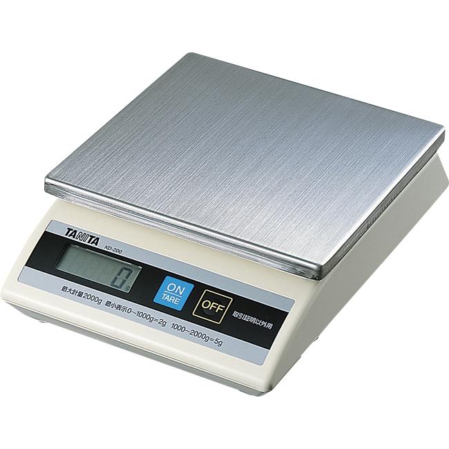 タニタ デジタル式卓上スケール KD-200 1kg 【あす楽対応】