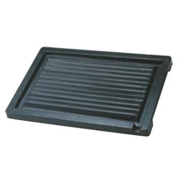 鉄 オイルプレート H-300-70 247×345【オイルプレート】【鉄製】【電磁調理器対応】【IH対応】【角型】【業務用】